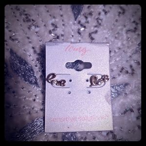 3 for $10 earrings icing brand love studs